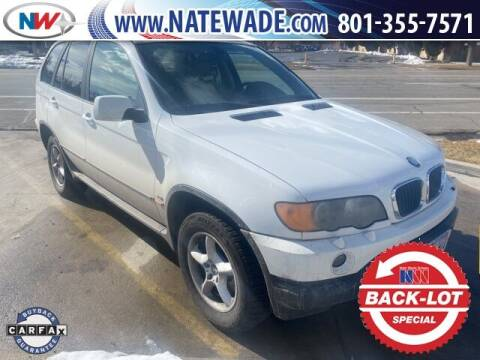 2003 BMW X5 for sale at NATE WADE SUBARU in Salt Lake City UT