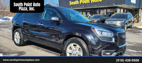 2015 GMC Acadia for sale at South Point Auto Plaza, Inc. in Albany NY