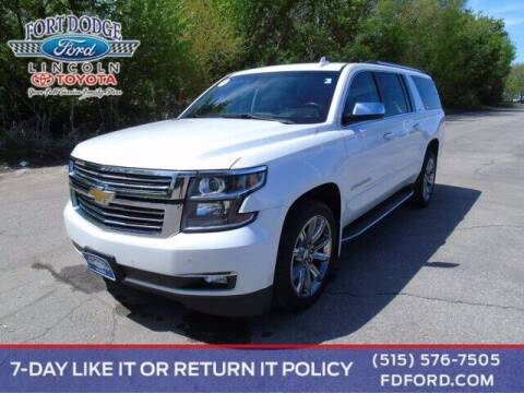 2016 Chevrolet Suburban for sale at Fort Dodge Ford Lincoln Toyota in Fort Dodge IA