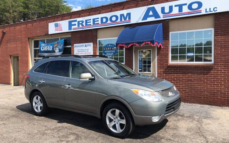 2008 Hyundai Veracruz for sale at FREEDOM AUTO LLC in Wilkesboro NC