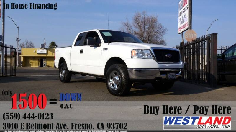 2007 Ford F-150 for sale at Westland Auto Sales in Fresno CA