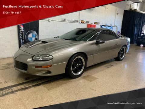 1999 Chevrolet Camaro for sale at Fastlane Motorsports & Classic Cars in Addison IL