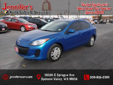 2012 Mazda MAZDA3 for sale at Jennifer's Auto Sales in Spokane Valley WA