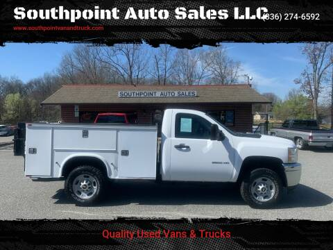2013 Chevrolet Silverado 2500HD for sale at Southpoint Auto Sales LLC in Greensboro NC