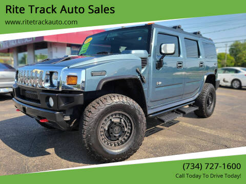 2005 HUMMER H2 for sale at Rite Track Auto Sales in Wayne MI