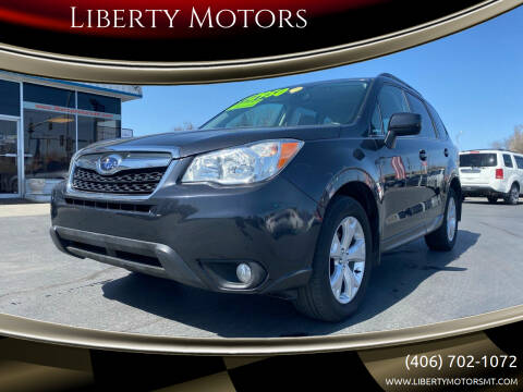 2014 Subaru Forester for sale at Liberty Motors in Billings MT