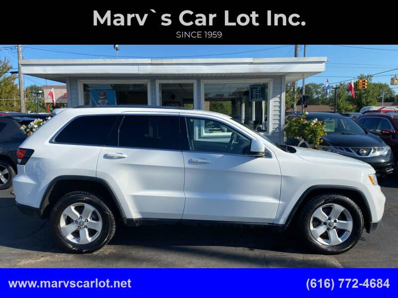 2013 Jeep Grand Cherokee for sale at Marv`s Car Lot Inc. in Zeeland MI