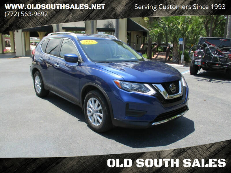 2018 Nissan Rogue for sale at OLD SOUTH SALES in Vero Beach FL