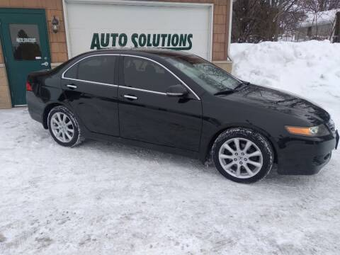 2008 Acura TSX for sale at Auto Solutions of Rockford in Rockford IL