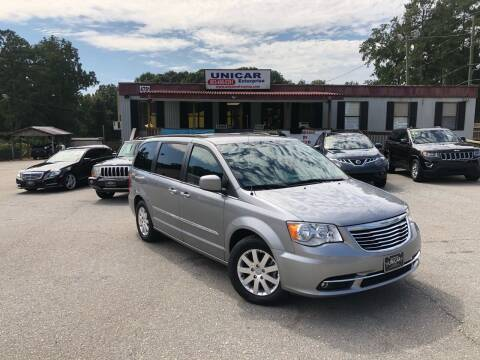2016 Chrysler Town and Country for sale at Unicar Enterprise in Lexington SC