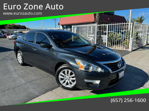 2014 Nissan Altima for sale at Euro Zone Auto in Stanton CA