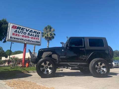 2008 Jeep Wrangler for sale at Brevard Auto Sales in Palm Bay FL
