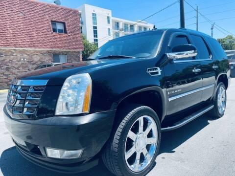 2007 Cadillac Escalade for sale at Meru Motors in Hollywood FL
