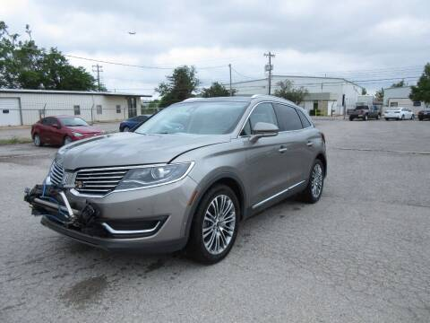 2016 Lincoln MKX for sale at Grays Used Cars in Oklahoma City OK