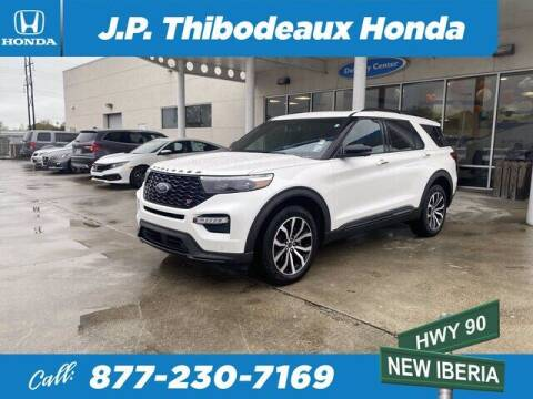 2020 Ford Explorer for sale at J P Thibodeaux Used Cars in New Iberia LA