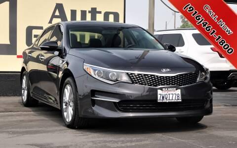 2017 Kia Optima for sale at H1 Auto Group in Sacramento CA