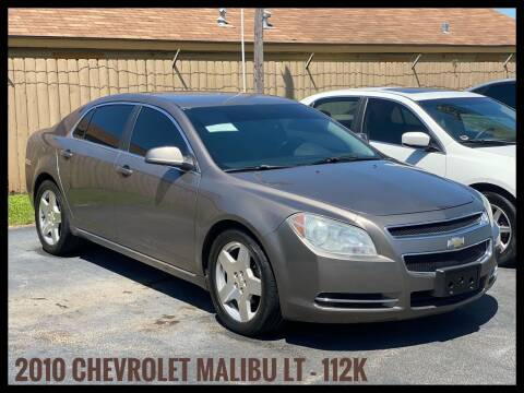 2010 Chevrolet Malibu for sale at ASTRO MOTORS in Houston TX