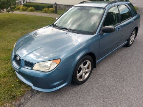 2007 Subaru Impreza for sale at Wallet Wise Wheels in Montgomery NY