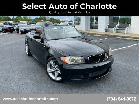 2011 BMW 1 Series for sale at Select Auto of Charlotte in Matthews NC