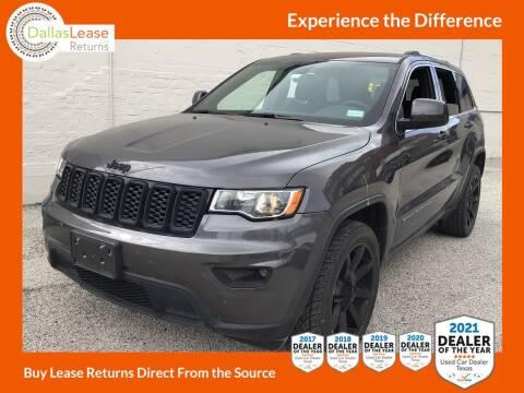 2017 Jeep Grand Cherokee for sale at Dallas Auto Finance in Dallas TX