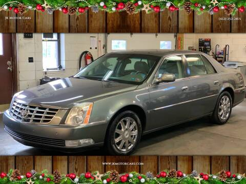 2008 Cadillac DTS for sale at JK Motor Cars in Pittsburgh PA