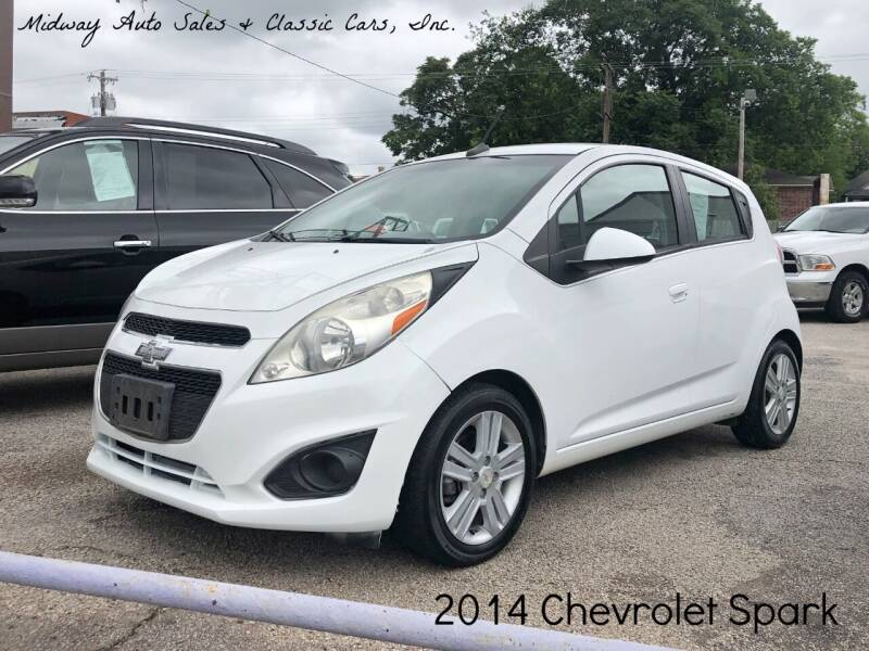 2014 Chevrolet Spark for sale at MIDWAY AUTO SALES & CLASSIC CARS INC in Fort Smith AR