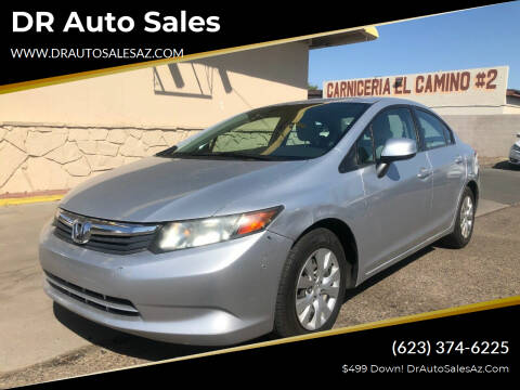 2012 Honda Civic for sale at DR Auto Sales in Glendale AZ