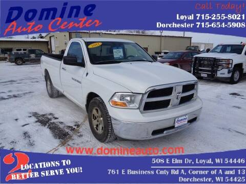 2011 RAM Ram Pickup 1500 for sale at Domine Auto Center - commercial vehicles in Loyal WI