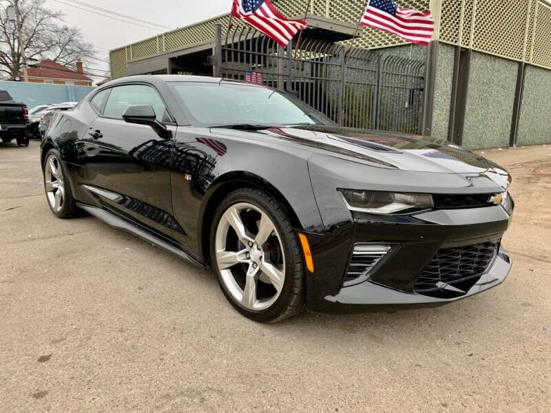2018 Chevrolet Camaro for sale at Gus's Used Auto Sales in Detroit MI