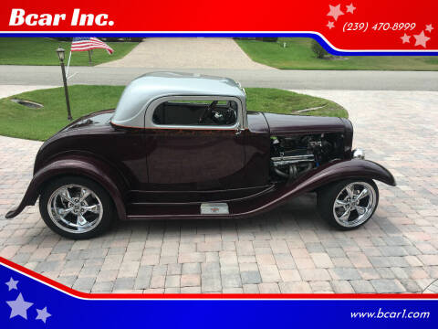 1930 Ford 3 Window Coupe for sale at Bcar Inc. in Fort Myers FL