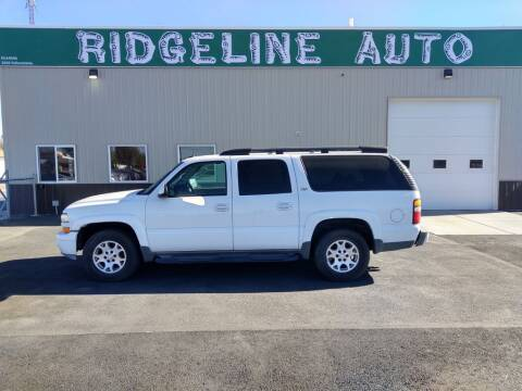 2004 Chevrolet Suburban for sale at RIDGELINE AUTO in Chubbuck ID