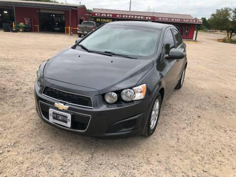 2016 Chevrolet Sonic for sale at CAR CORNER in Van Buren AR
