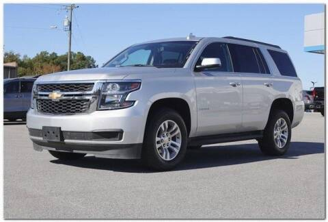 2019 Chevrolet Tahoe for sale at WHITE MOTORS INC in Roanoke Rapids NC