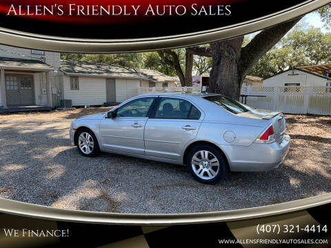 2009 Ford Fusion for sale at Allen's Friendly Auto Sales in Sanford FL