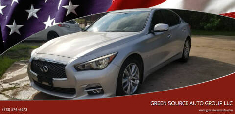 2014 Infiniti Q50 for sale at Green Source Auto Group LLC in Houston TX