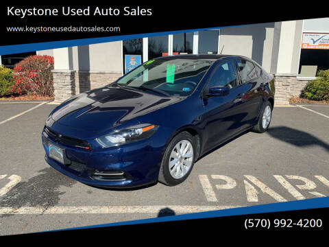 2014 Dodge Dart for sale at Keystone Used Auto Sales in Brodheadsville PA