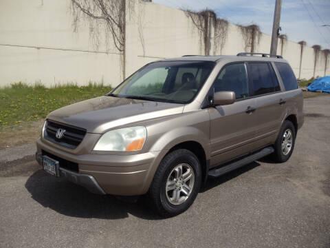 2003 Honda Pilot for sale at Metro Motor Sales in Minneapolis MN
