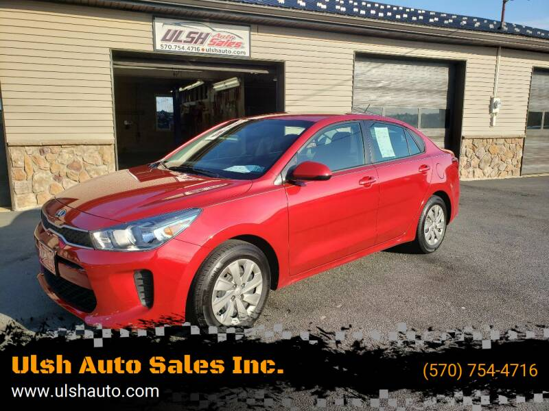 2019 Kia Rio for sale at Ulsh Auto Sales Inc. in Summit Station PA