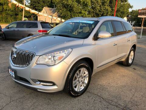 2013 Buick Enclave for sale at Bibian Brothers Auto Sales & Service in Joliet IL