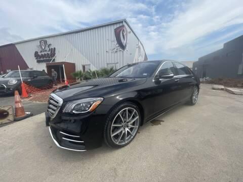 2018 Mercedes-Benz S-Class for sale at Barrett Auto Gallery in San Juan TX