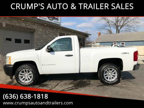 2009 Chevrolet Silverado 1500 for sale at CRUMP'S AUTO & TRAILER SALES in Crystal City MO