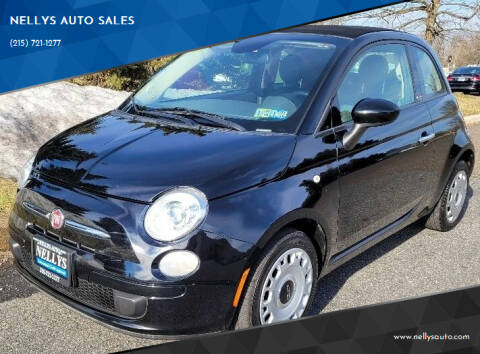 2015 FIAT 500c for sale at NELLYS AUTO SALES in Souderton PA