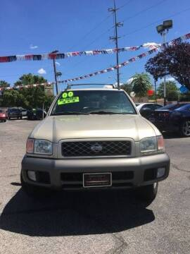 2000 Nissan Pathfinder for sale at ALBUQUERQUE AUTO OUTLET in Albuquerque NM