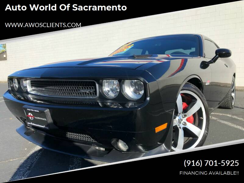 2012 Dodge Challenger for sale at Auto World of Sacramento Stockton Blvd in Sacramento CA