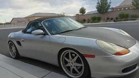 2001 Porsche Boxster for sale at RAFIKI MOTORS in Henderson NV