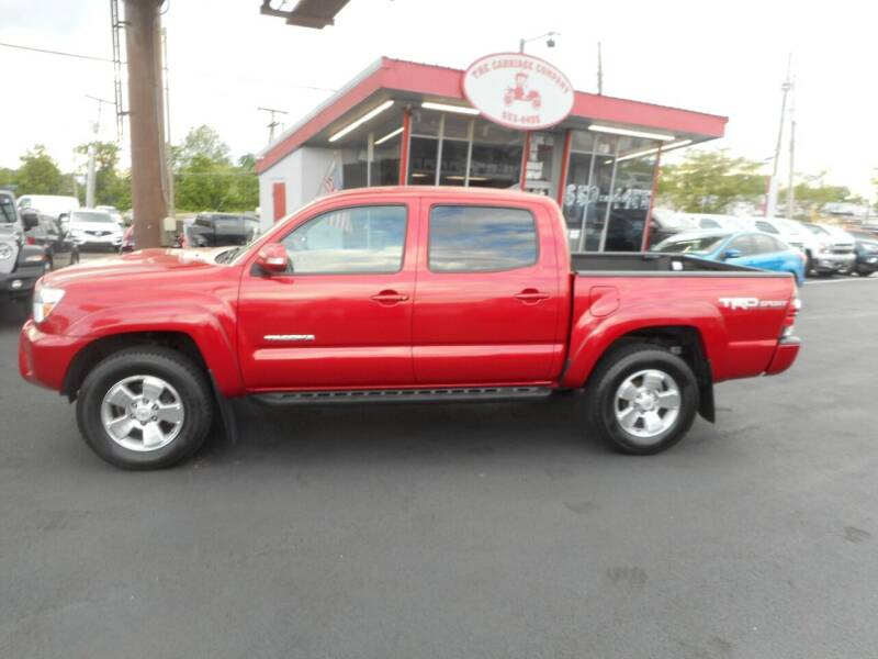 2015 Toyota Tacoma for sale at The Carriage Company in Lancaster OH