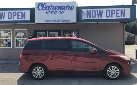 2012 Mazda MAZDA5 for sale at Claremore Motor Company in Claremore OK