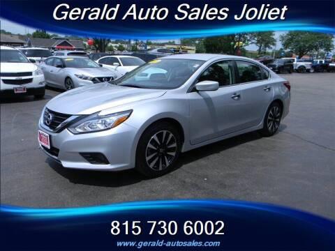 2018 Nissan Altima for sale at Gerald Auto Sales in Joliet IL