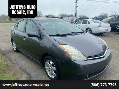 2007 Toyota Prius for sale at Jeffreys Auto Resale, Inc in Clinton Township MI