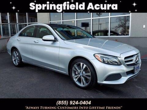 2015 Mercedes-Benz C-Class for sale at SPRINGFIELD ACURA in Springfield NJ